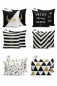Preview: Pillowcases - Set of 6 Zebra