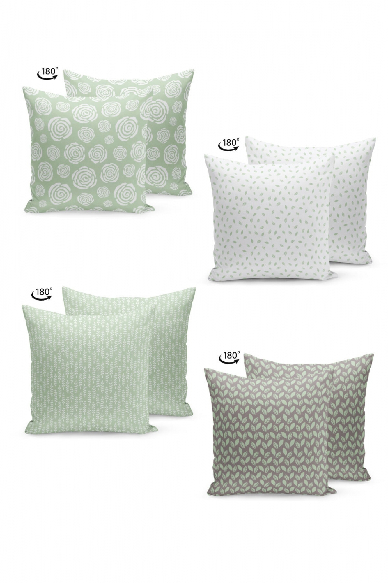 Pillowcases - Set of 4 Calm
