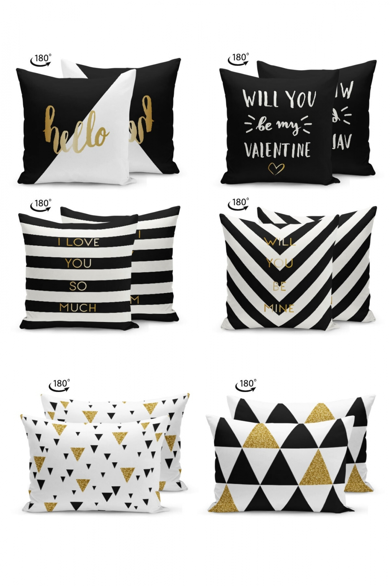 Pillowcases - Set of 6 Zebra