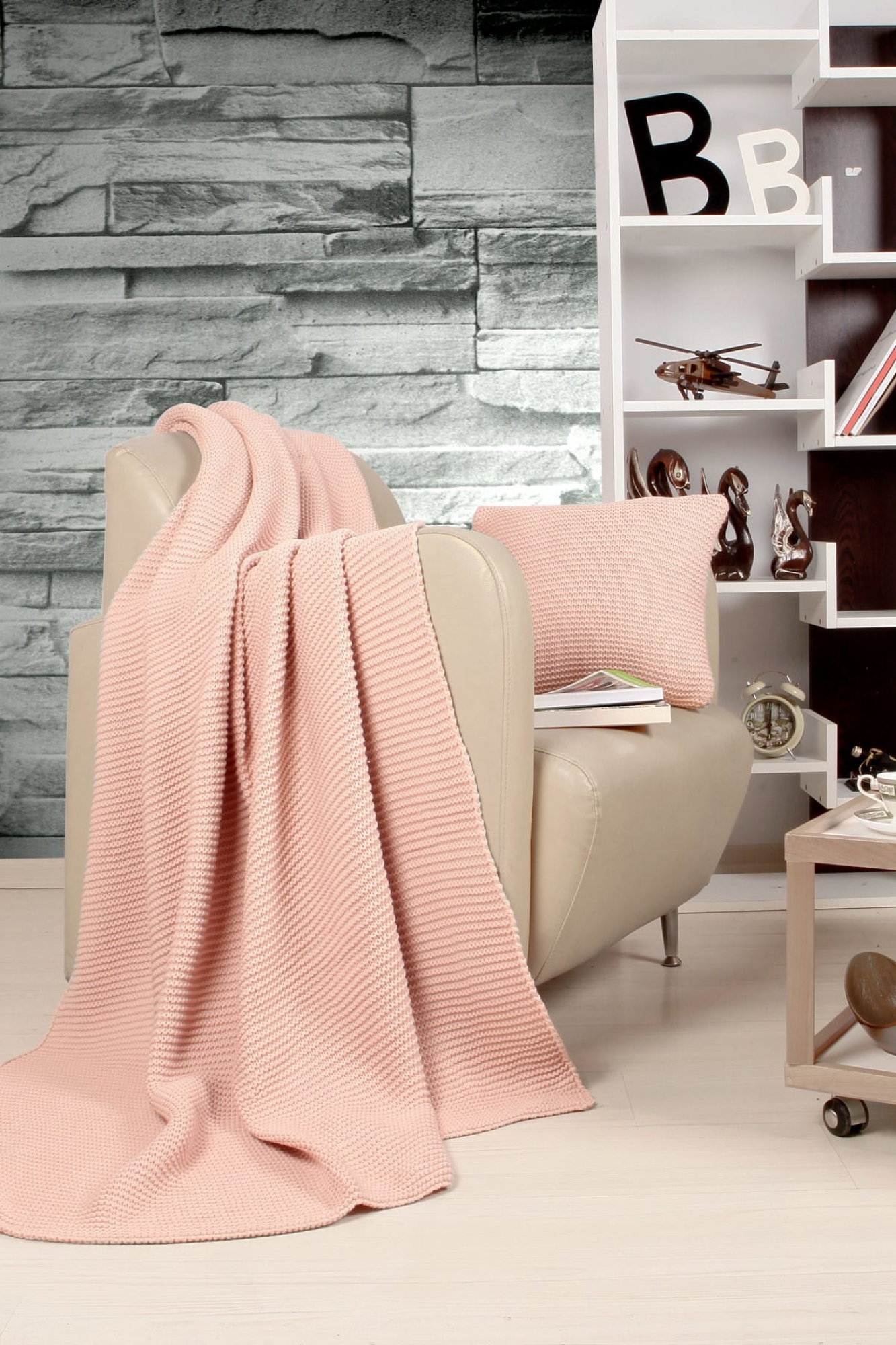 Blanket-Set Hello Pink